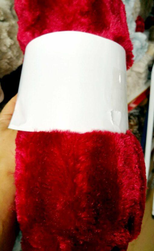 Manta microfibra model Superplush Rojo