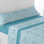 comprar juego sábanas villar Azul baratas