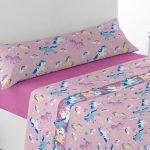 sábanas coralina unicornio baratas