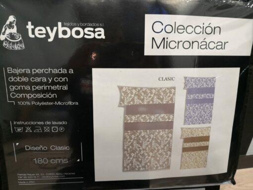 Juego Sábanas Micronacar Clasic Azul