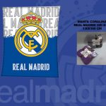 Manta Coralina Real Madrid