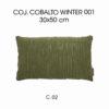 Cojín Cobalto Winter C-02