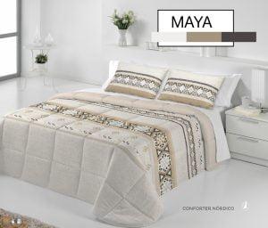 Edredón Conforter Diva Maya Beige