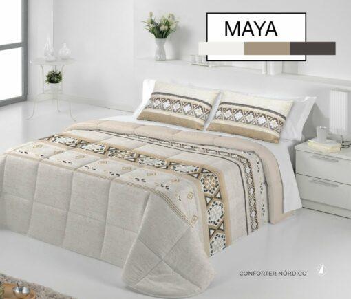 Edredón Conforter Maya Beige