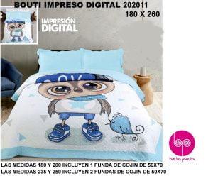 Colcha Bouti Inafntil Pajaro