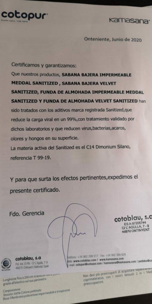 Sábanas Bajeras Impermeables Antivirus