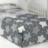 Edredón Conforter Stars Gris