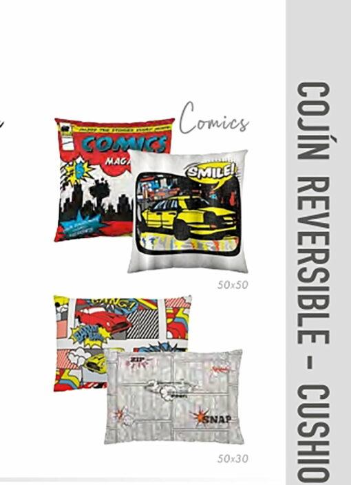 Juego Cojines Comics