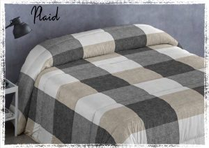 Edredon Conforter Plaid