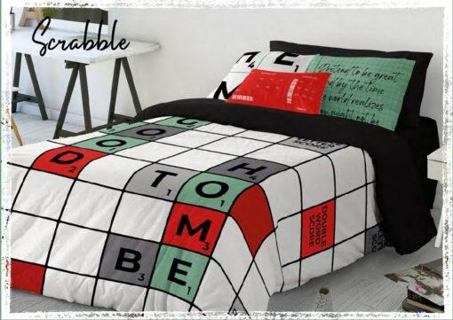 Funda Nórdica 2pz. Scrabble