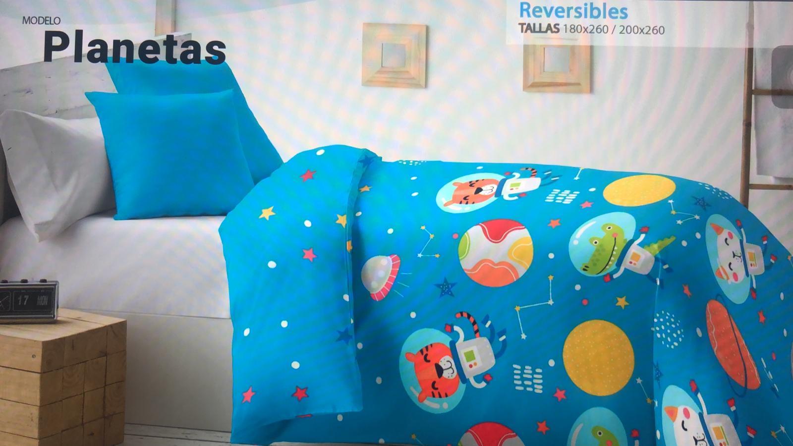 Edredón Nórdico Infantil Planetas