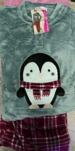 Pijama Sedalina Pingüino Gris