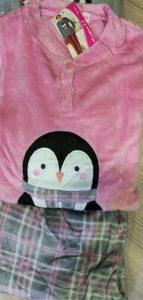 Pijama Sedalina Pingüino Rosa
